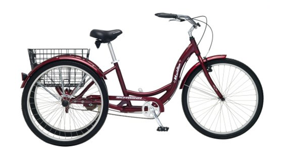 Meridian Adult 26-Inch 3-Wheel Bike